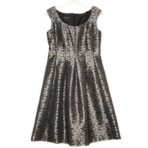 Black Label by Evan Picone Fit & Flare Dress 4